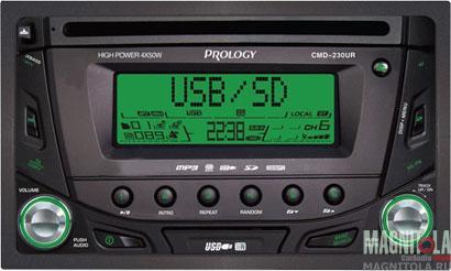 2DIN CD/MP3-ресивер с USB Prology CMD-230UR