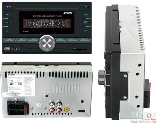 2DIN бездисковый ресивер Digma DCR-550