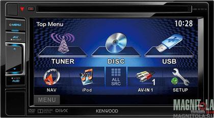 2DIN мультимедийный центр Kenwood DDX355