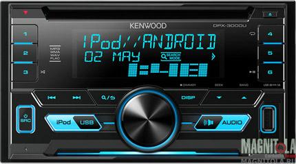 2DIN CD/MP3-ресивер с USB Kenwood DPX-3000U