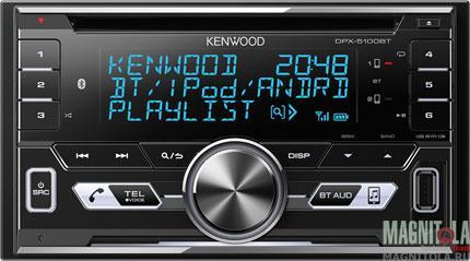 2DIN CD/MP3-ресивер с USB и поддержкой Bluetooth Kenwood DPX-5100BT