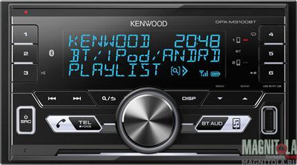 2DIN мультимедийный бездисковый ресивер с поддержкой Bluetooth Kenwood DPX-M3100BT