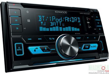 2DIN CD/MP3-ресивер с USB и поддержкой Bluetooth Kenwood DPX-5000BT