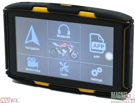 GPS-навигатор для мотоцикла AVEL DRC050A (V2.0)