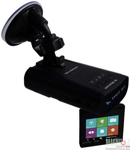 Автомобильный видеорегистратор/радар-детектор Supra DRS-GD69VST