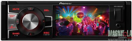 DVD-ресивер со встроенным ЖК-дисплеем и поддержкой Bluetooth Pioneer DVH-880AVBT