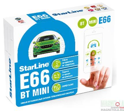 Автомобильная сигнализация StarLine E66 BT MINI