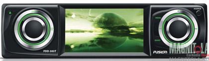 DVD-ресивер со встроенным ЖК-дисплеем Fusion FDD-303T