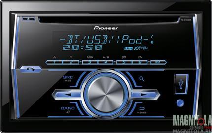 2DIN CD/MP3-ресивер с USB и поддержкой Bluetooth Pioneer FH-X700BT