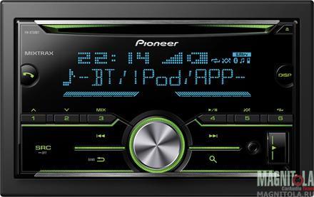 2DIN CD/MP3-ресивер с USB и поддержкой Bluetooth Pioneer FH-X730BT