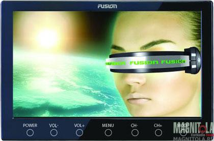 Автомобильный телевизор Fusion FTV-95U black