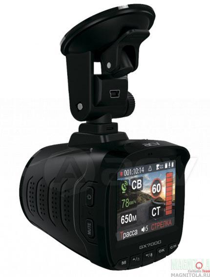Автомобильный видеорегистратор/радар-детектор ACV GX-7000