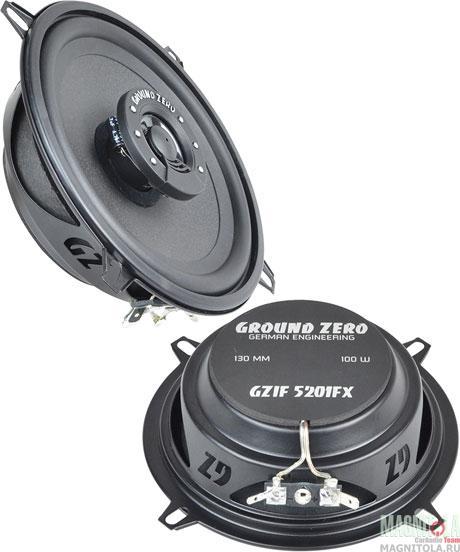 Коаксиальная акустическая система Ground Zero GZIF 5201FX
