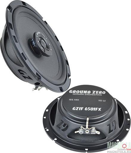 Коаксиальная акустическая система Ground Zero GZIF 6501FX