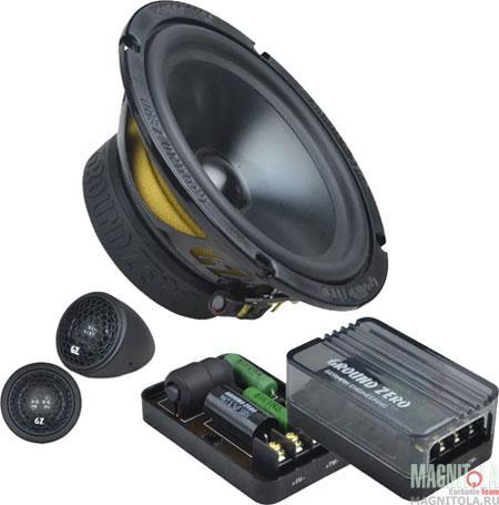 Компонентная акустическая система Ground Zero GZRC 165.2SQ-IV