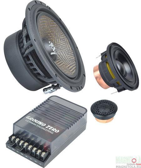 Компонентная акустическая система Ground Zero GZUC 65.3SQX