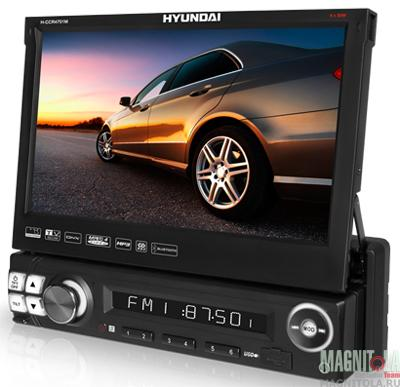 Мультимедийный бездисковый ресивер с поддержкой Bluetooth Hyundai H-CCR4701M