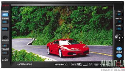 2DIN мультимедийный центр с навигацией Hyundai H-CMDN6000