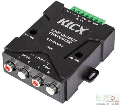Конвертер уровня Kicx HL4