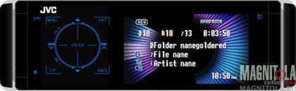 DVD-ресивер со встроенным ЖК-дисплеем JVC KD-AVX44EE