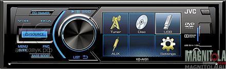 DVD-ресивер со встроенным ЖК-дисплеем JVC KD-AV31