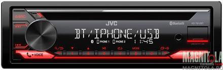 CD/MP3-ресивер с USB и поддержкой Bluetooth JVC KD-T812BT