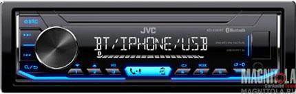 Бездисковый ресивер с поддержкой Bluetooth JVC KD-X351BT