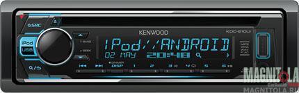 CD/MP3-ресивер с USB Kenwood KDC-210UI