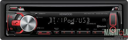 CD/MP3-ресивер с USB и поддержкой Bluetooth Kenwood KDC-BT43U