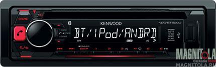 CD/MP3-ресивер с USB и поддержкой Bluetooth Kenwood KDC-BT500U
