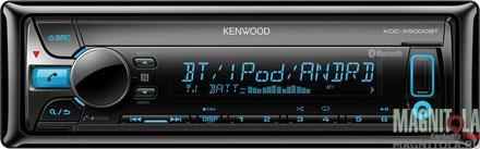 CD/MP3-ресивер с USB и поддержкой Bluetooth Kenwood KDC-X5000BT