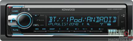 CD/MP3-ресивер с USB и поддержкой Bluetooth Kenwood KDC-X5200BT