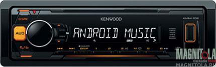 Бездисковый ресивер Kenwood KMM-102AY