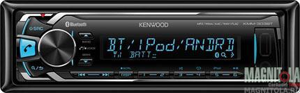 Цифровой медиаресивер с поддержкой Bluetooth Kenwood KMM-303BT