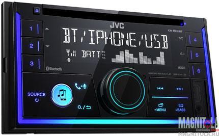 2DIN CD/MP3-ресивер с USB и поддержкой Bluetooth JVC KW-R930BT