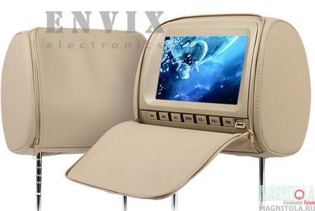 Комплект подголовников с DVD-плеером и монитором ENVIX L0236