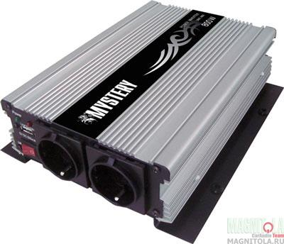 Автомобильный инвертор напряжения Mystery MAC-800