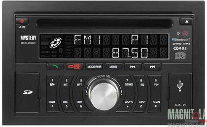 2DIN CD/MP3-ресивер с USB и поддержкой Bluetooth Mystery MCD-989BC