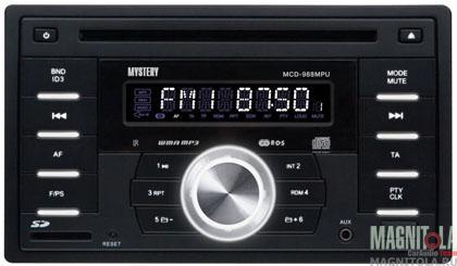 2DIN CD/MP3-ресивер с USB Mystery MCD-988MPU