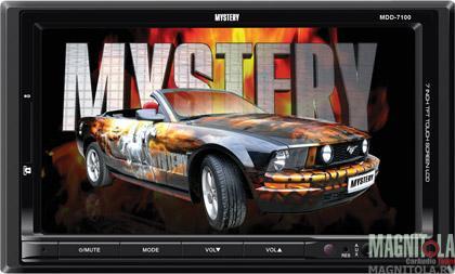2DIN мультимедийный бездисковый ресивер Mystery MDD-7100