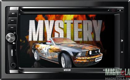 2DIN мультимедийный центр с поддержкой Bluetooth Mystery MDD-6250BS