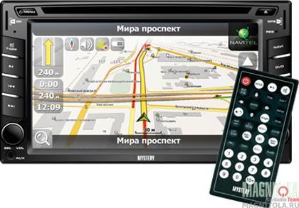 2DIN мультимедийный центр с навигацией Mystery MDD-6270NV