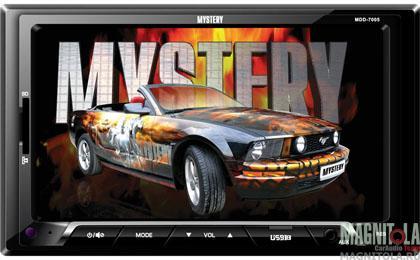 2DIN мультимедийный бездисковый ресивер Mystery MDD-7005