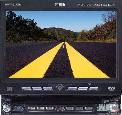 Мультимедийный центр с навигацией Mystery MMTD-9270NV black