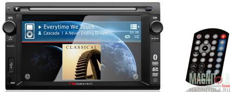 2DIN мультимедийный центр с навигацией и поддержкой Bluetooth Nakamichi NA1650