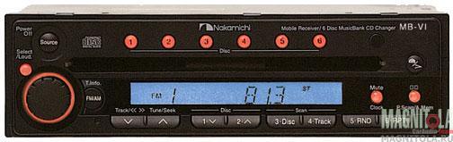 CD-ресивер/чейнджер Nakamichi MB-VI