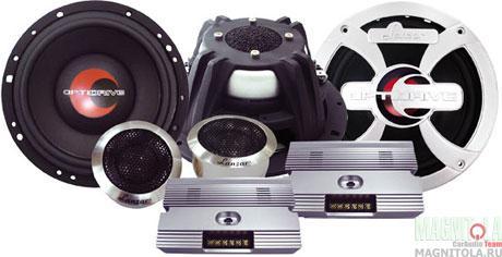 Компонентная акустическая система Lanzar Opti 6C