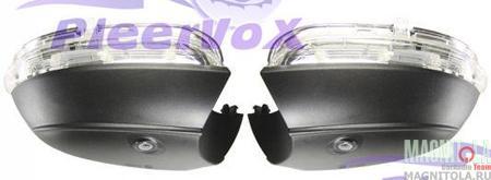 Камера заднего вида в корпусе зеркала для автомобилей VW Pleervox PLV-AVG-SIDEVW