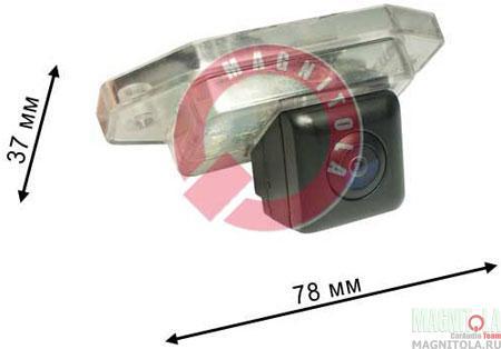 Камера заднего вида для автомобилей Toyota Prado 80, Prado 120 и Land Cruiser 100 с запасным колесом Pleervox PLV-AVG-TYPR02