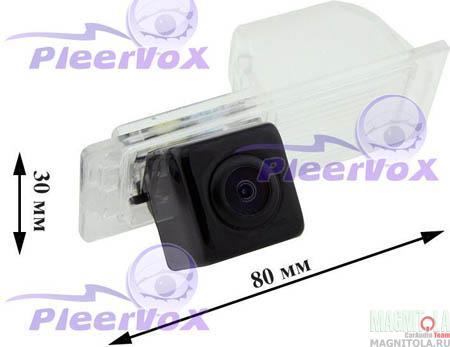 Камера заднего вида для автомобилей Cadillac CTS 12-, SRX 10- Pleervox PLV-CAM-CA03